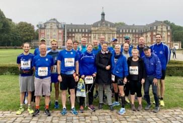 Wir waren dabei….. 18. Volksbank-Münstermarathon
