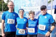 Barbara Laubrock und Petra Gehltomholt auf AK-Platz 1 und 3 beim Saerbecker Kirmeslauf