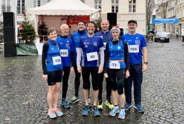 Nikolauslauf in Steinfurt: Petra Gehltomholt auf dem 3. Platz in der Gesamtwertung