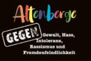 Altenberge gegen Gewalt, Hass, Intoleranz, Rassismus und Fremdenfeidlichkeit, Samstag, 29.2., 12 Uhr