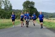 Laufabteilung läuft für die Kinderkrebshife am UKM