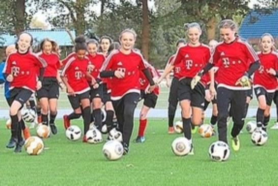 U15-Mädels spielen gegen die Kreisauswahl Münster