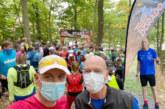 Norbert Sommer bei der deutschen Meisterschaft im Trailrunning auf Patz 29