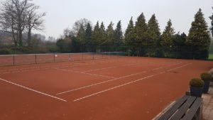 Ende der Freiluft Tennissaison