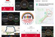 Lauftreffchallenge, 1. Woche - 2276 km