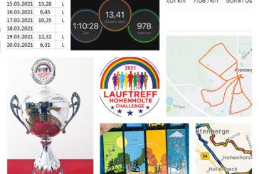 Hohenholter Lauftreff-Challenge, Woche 3