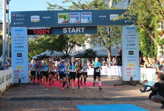 Christopher Dicks mit neuer persönlicher Bestzeit beim Brixen Dolomiten Marathon