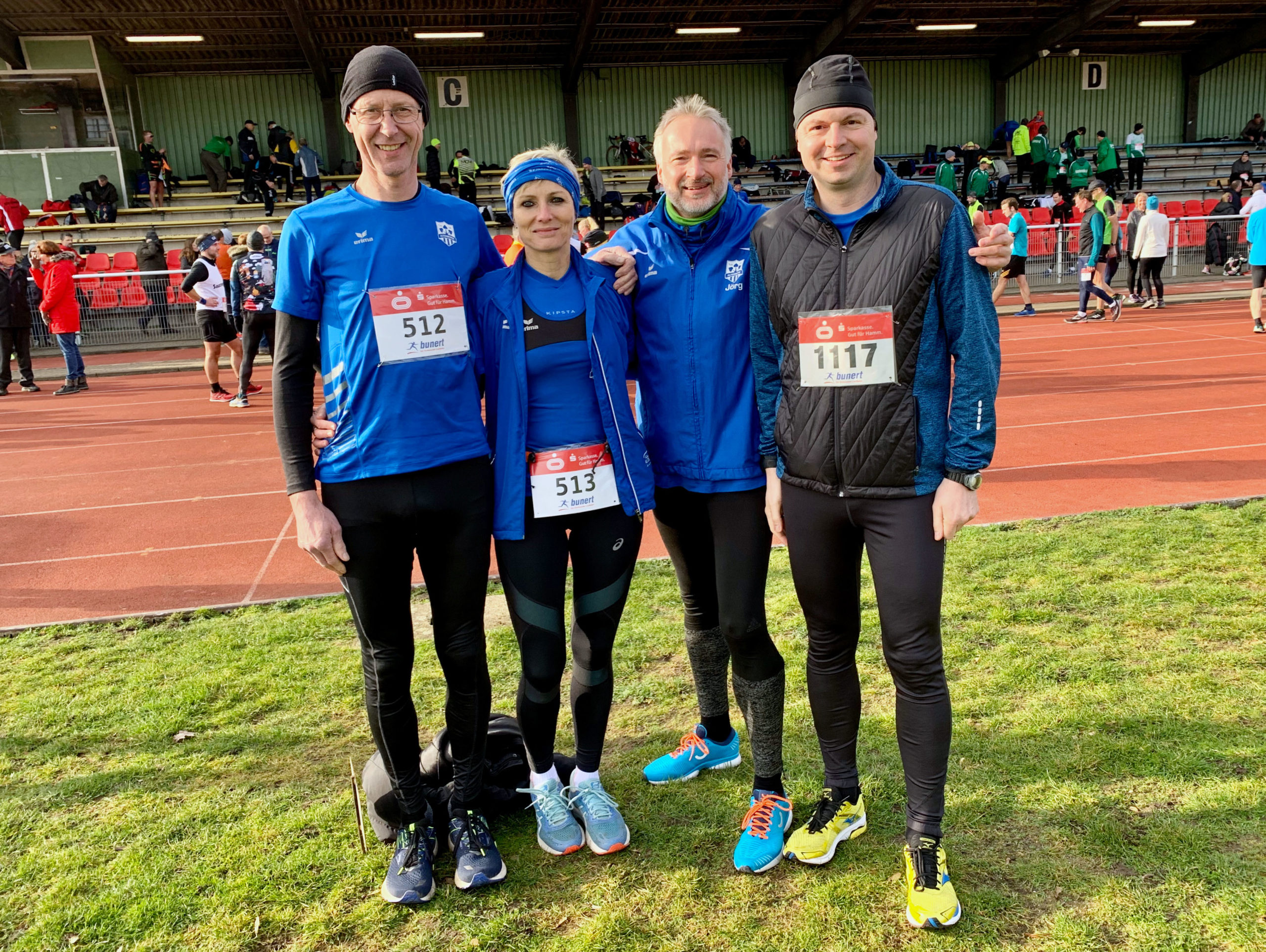 Start der Hammer Winterlaufserie